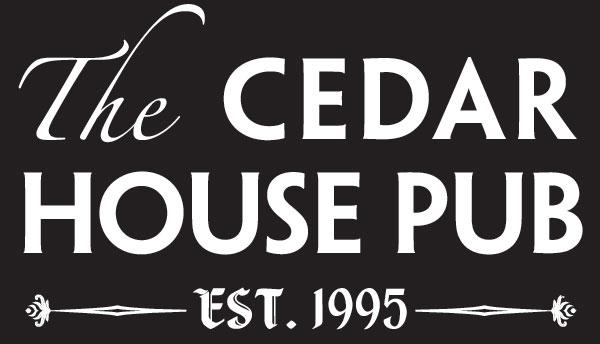 cedar house pub logo