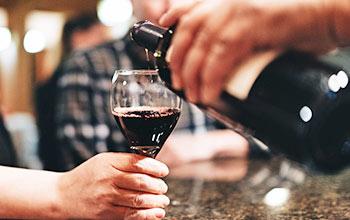 wine fireside